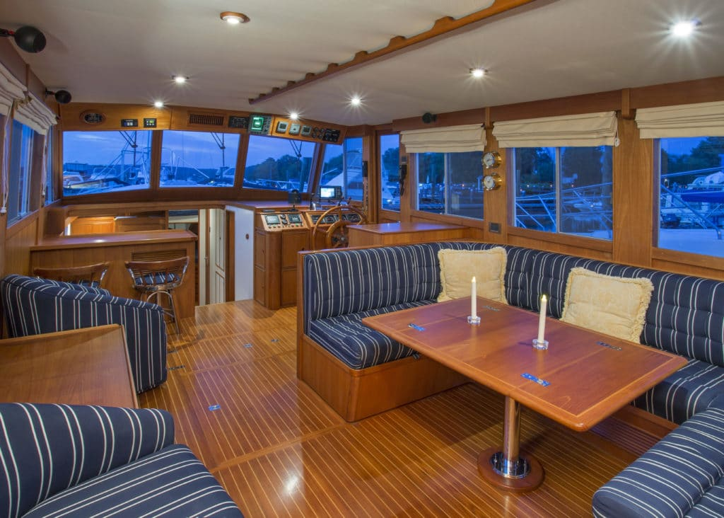 Grand Banks 52 Motoryacht offered by Essex Yacht Sales