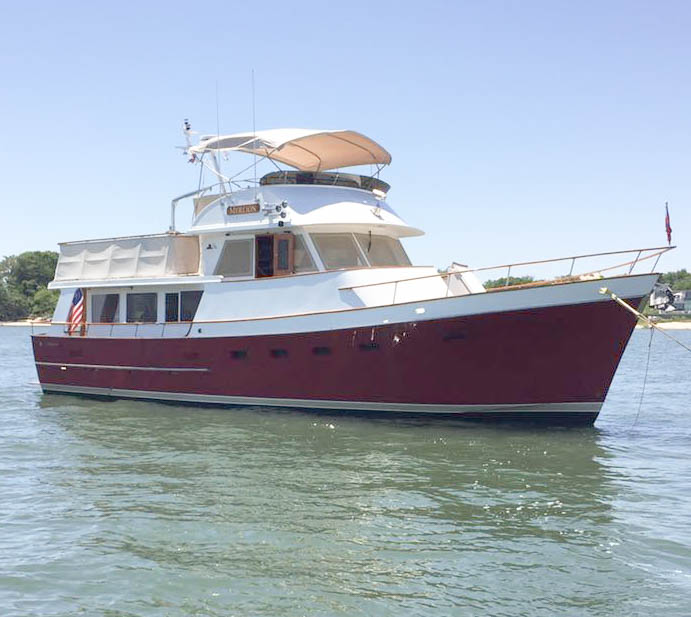 Ocean Alexander 50, purchased through Essex Yacht Sales