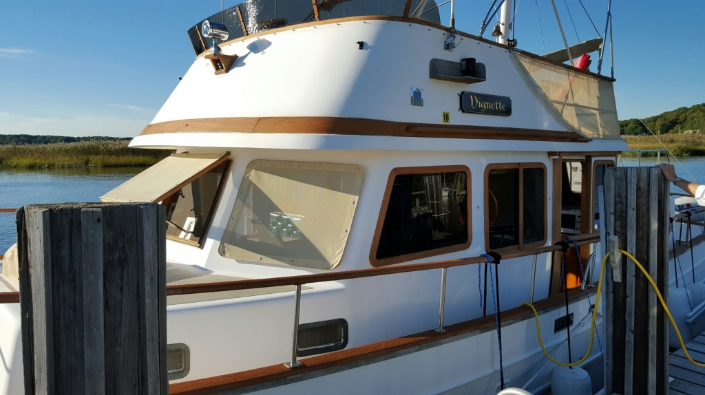 Marine Trader 38 DC sold by Essex Yacht Sales