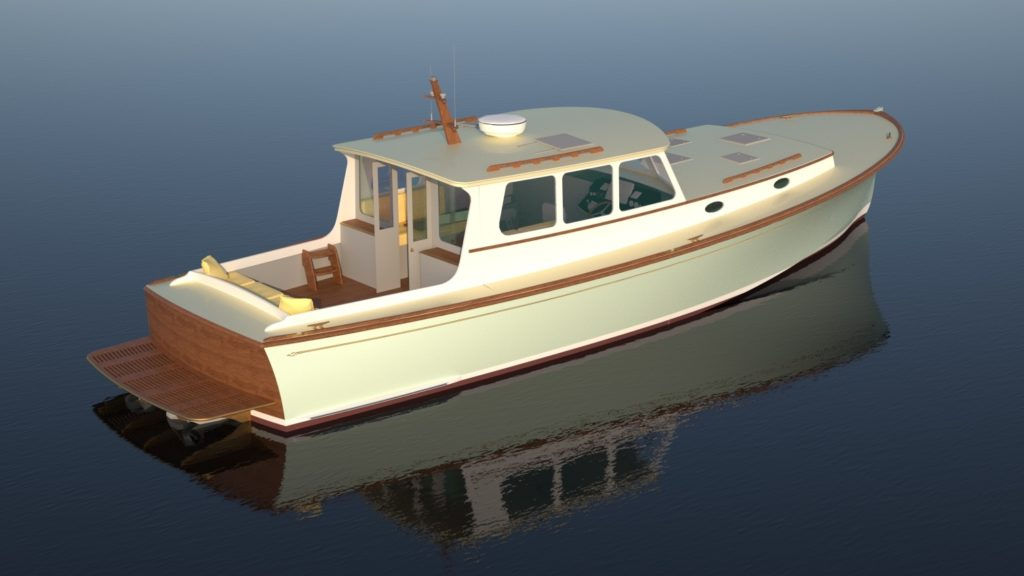 Rockport Marine RM44 offered by Essex Yacht Sales
